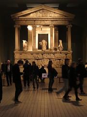 At the British Museum (Dubris) Tags: england london britishmuseum nereidmonument pediment classical ionic