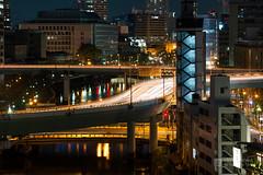 Hanshin Expressway Route 11 Ikeda Line (阪神高速11号池田線) (christinayan01) Tags: osaka japan higobashi nakanoshima river elevated expressways highway hanshin overpass
