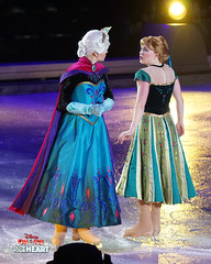 Queen Elsa & Princess Anna (DDB Photography) Tags: disney disneyonice ice waltdisney disneyphoto disneypictures disneycharacters followyourheart mickey mickeymouse minnie minniemouse mouse feldentertainment donaldduck duck goofy figure skate figureskate show iceshow prince princess princesses castle animation disneymovie movie animatedmovie fairytale story anna elsa elsathesnowqueen olaf kristoff sven hans princehans arendelle frozen loveisanopendoor letitgo