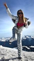 odri - silver (skisuitguy) Tags: skisuit snowsuit ski snow suit skiing skiwear skifashion skibunny onepieceskisuit onepiecesuit onesie