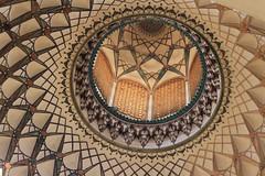 Borujerdi Historical House (Wild Chroma) Tags: borujerdi historical house iran kashan ceiling