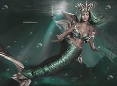 Thessalonike ♥♥ (Nayra Collas) Tags: astralia nayracollas sirenas mermaid secondlife games fantasy