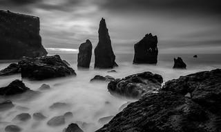 Sea stacks - Iceland