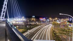 台中 沙鹿之翼 (Jack the Photography) Tags: sony a6000 taiwan taichung bridge nightview 台灣 台中 沙鹿 沙鹿之翼 清水 交界