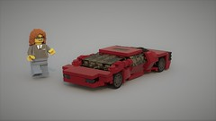 Vector W8 First attempt (Fictitious Pasta) Tags: car vector lego fun build toy w8 youngjustice3