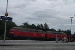 IMGP9217 (Alvier) Tags: deutschland norddeutschland nordfriesland niebüll neg db bahnhof eisenbahn dampflok eisenbahnsignal diesellok