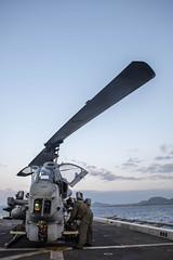 170405-N-JH293-016 (U.S. Pacific Fleet) Tags: ussgb greenbay ussgreenbay lpd20 japan sasebo bhr esg ctf76 forwarddeployed us7thfleet pacific ocean water navy ship sailors wisconsin packers vmm262 31stmeu nbu7 marines bonhommerichard bhresg patrol atsea bucknerbay jpn