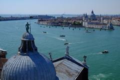 Venezia, Panorama da San Giorgio Maggiore (Raul Montoleone) Tags: venezia venice veneto santamariadellasalute cattedrale sangiorgiomaggiore water acqua laguna churches chiese