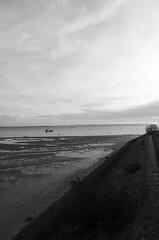 151227IMGP7744 (aureliedumartin) Tags: borddemer villages de pêcheurs cap ferret noir et blanc seaside