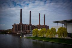 Wolfsburg (mai.qu) Tags: wolfsburg niedersachsen volkswagen vw germany autostadt cars engel stein factory fabrik industrie