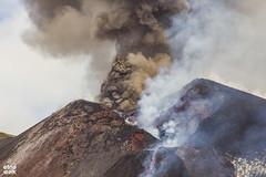 Etna Eruption - 27/4/2017 (Etna Walk) Tags: etna etnawalk lava eruption ash etnaeruption eruzione volcano sicily