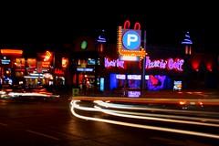 Midway Madness (christineliphoto) Tags: niagarafalls city street light night longexposure