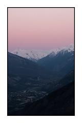 Couché de soleil sur la vallée (Pierre_Bn) Tags: 2017 maurienne savoie alpes alps frenchalps mountain montagne mountains montagnes savoy fuji fujifilm fujixt2 fujinon