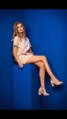 A take on Irving Penn's corner series (siena2012) Tags: editorial blue irvingpenn cornerseries fashion photoshoot photography