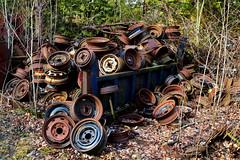 IMG_2665 (Irina Souiki) Tags: rusty crusty cars mcleansautowreckers milton ontario old oldcars