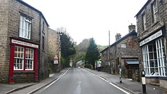 Stoney Middleton   April 2017 (dave_attrill) Tags: main street a623 butchers castlegate farm shop hair works hairdressers stoney middleton derbyshire peak district century village near eyam calver ancient highway limestone burning industry besom bootmaking candle roman settlement lord denman architecture outdoor hope valley historic mid 17th april 2017 national park white lead mining mines domesday book