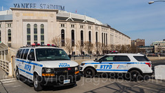 NYPD Police Patrol Cars, Yankee Stadium, The Bronx, New York City (jag9889) Tags: 2017 20170412 al allamericacity americanleague automobile ballpark baseball baseballteam bombers bronx car chevrolet chevy finest firstresponder ford lawenforcement majorleaguebaseball ny nyyankees nyc nypd nyy newyankeestadium newyork newyorkcity newyorkcitypolicedepartment newyorkyankees outdoor pbbx pinstripes policedepartment policepatrolcar suv southbronx sportutilityvehicle stadium thebronx thebronxbombers theyanks transportation usa unitedstates unitedstatesofamerica van vehicle yankeestadium yankeestadiumiii yankees jag9889