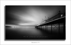 Serenity (Explored 21/04/2017) (RTA Photography) Tags: rtaphotography mono longexposure paignton paigntonpier dawn monochrome blackwhite sea explored
