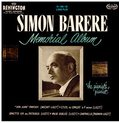 Simon Barere Memorial • Mozart:Liszt • Liszt • Paganini:Liszt - Barere Remington 1 (sacqueboutier) Tags: vintage vinyl vinyllover vinylcollection vinylnation vinylcollector lp lplover lps lpcollection lpcover lpcollector lpcoverart remington records record classical classicalmusic