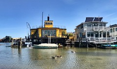 Sausalito Floating Homes (Land Ahoy Photography) Tags: waldopointharbor sausalitohouseboats unitedstates california marincounty water vessel boathouse boathouses floatinghomes houseboats houseboat sausalito sausalitofloatinghomes
