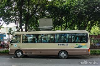 Bus Cu Chi Tunnels