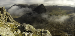 Tryfan appearing from an early morning Ogwen inversion (karlpage) Tags: tryfan snowdonia ogwen valley glyderau inversion clouds wales
