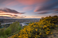Drifting Clouds (Kyoshi Masamune) Tags: edinburgh scotland uk kyoshimasamune longexposure caltonhill cokinfilters zomeind1000 zomei nd1000 clouds cloudscape ultrawideangle wideangle commongorse firthofforth firth forth panorama citypanorama cityscape