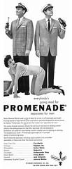 1957 Promenade ad (Tom Simpson) Tags: 1957 1950s promenade 1950sfashion fashion menswear woman bikini girl vintage ad ads advertising advertisement vintagead vintageads