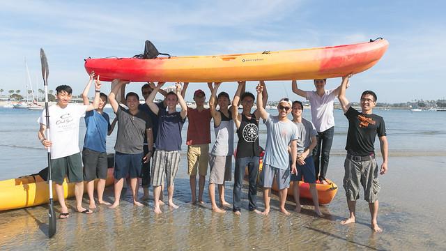 2017-04-22 UCR Frosh SD Kayak Trip