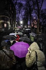 Montmartre (petrovicka95) Tags: montmartre paris night rain street umbrellas evening europe people color dusk