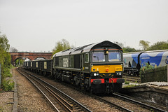 66779 6D16 (Normanton 55E) Tags: 66779 6d16 hull coal terminal ferrybridge power station knottingley