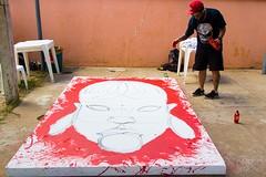 17991143_960697834067642_735447579146891909_n (BENET - BNT) Tags: bh tattoo festival benet bnt kren graffiti rosto indígena pindorama brasil live paint guerreiro ancestral