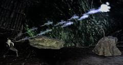 Channeling Pylon (Triss Nightshade) Tags: sl secondlife second life dark fantasy magick magic witch demon feyri plastik aii drow