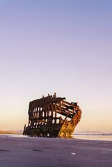 Sunset at Peter Iredale Wreck (YashPhoto) Tags: peter iredale wreck ships beach sunset oregon coast shipwreck nikon photobyarenee