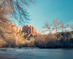 Cathedral-Rock-Sunset (Ray Devlin) Tags: nikon d800 landscape americana red rock cathedral redrockstatepark cathedralrock crescent moon arizona sedona