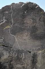 Petroglyphs / Little Lake Site (Ron Wolf) Tags: anthropology archaeology littlelake bighornsheep petroglyph rattlesnake rockart zoomorph california