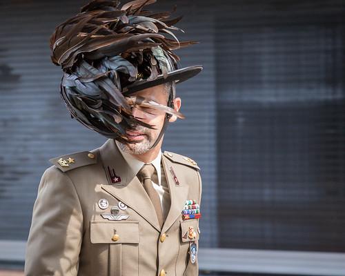 Italian Bersaglieri NATO Parade