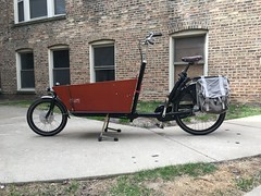 Bakfiets current status (Justin Haugens) Tags: bakfiets chicago cargobike bikechi