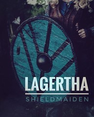 """""""You couldn't kill me if you tried for a hundred years."""" LAGERTHA (bilderbook) Tags: ifttt instagram"""