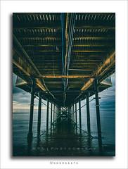 Underneath (RTA Photography) Tags: hdr hdrefex rtaphotography paigntonpier torbay devon southdevon morning blended nikond7000 light lightroomcc paignton sea seascape nikon 3xp exposures clouds sky f13 18mm nikon18105 iso100