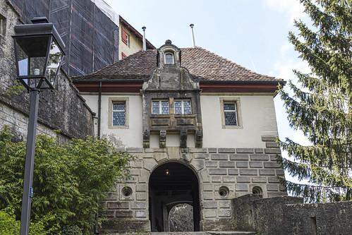 Schloss Lenzburg - mittleres Tor