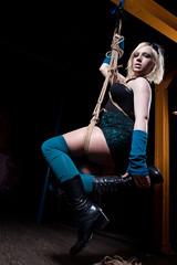 Ruby in Rope (Chris Blakeley) Tags: suspension bondage rope ruby selfsuspension