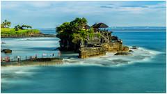 A view of Pura Tanah Lot (Davie Gan) Tags: bali seascape temple tanahlot tanahlottemple puratanahlot religioussite