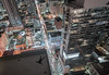 Jigsaw (tomms) Tags: street city toronto rooftop night grid lights jump downtown cityscape landing intersection jigsaw rooftopping