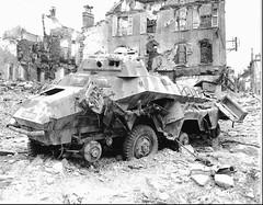 Diabled SdKfz 231, Saint-lô 29 july 1944. (Krueger Waffen) Tags: history war tank military thirdreich wwii armor ww2 armour normandy armored tanks panzer secondworldwar worldwartwo armoredvehicle warfare armoured armoredcar wehrmacht sdkfz reconnaissance secondworldwartanks tanksofthesecondworldwar