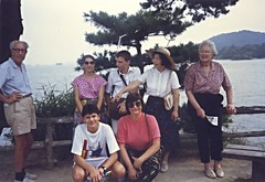 Walter & Mary Ellen with Japanese mathematicians, Kyoto, Japan 1990 (ali eminov) Tags: professors mathematics mathematicians topologists analysts walter maryellen congresses internationalcongressofmathematicians kyoto japan