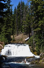 Falls Creek Trail (Powskichic of Bend) Tags: mountains oregon photographer bend cascades johnny fallscreek montanas runoff threesisterswilderness fallscreektrail cascadelakeshwy createbeauty powskichicofbend brendareidirwin