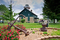 The Old Lighthouse (Tom Gill.) Tags: lighthouse museum trek indiana michigancity laportecounty lighthousetrek