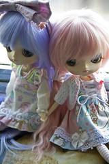Yumi and Judie (Brie G.) Tags: doll dal junplanning rotchan hanaayame