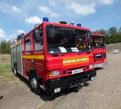 Brooklands L884CPC (Waterford_Man) Tags: fire dennis brooklands l884cpc